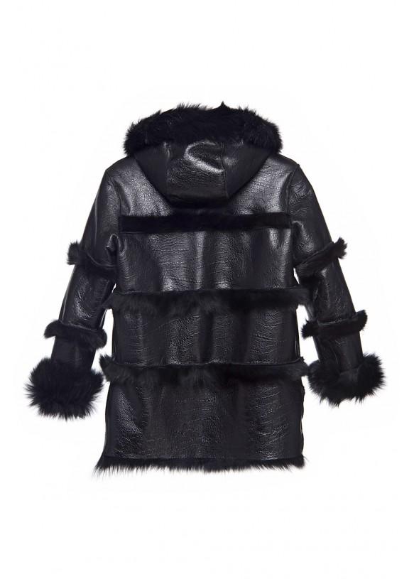 Sheepskin coat 7809/1 COCUK KROKO 065