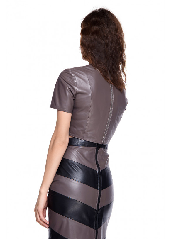Кожаный костюм TKM-1 NATUREL 093