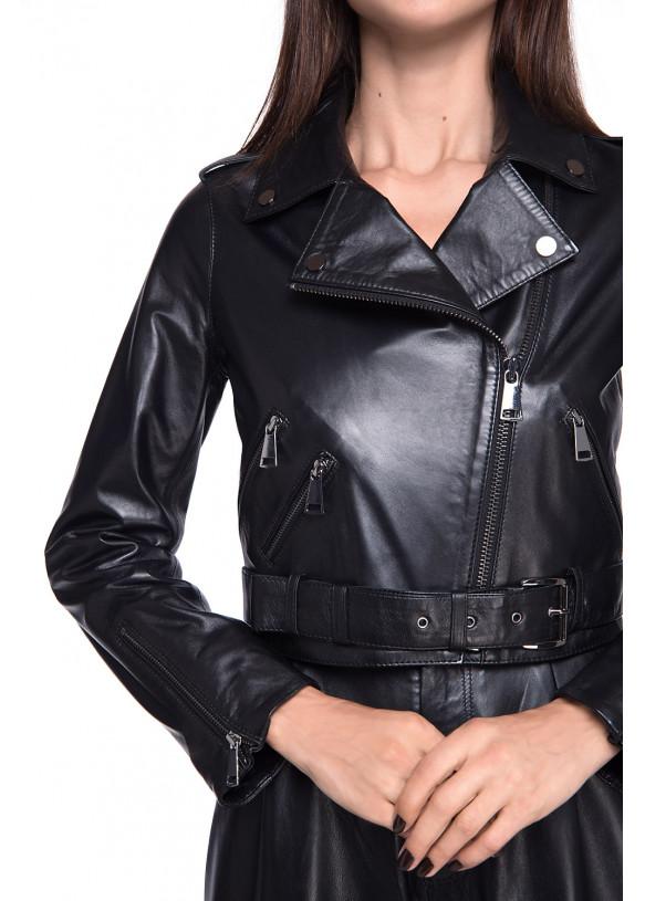Кожаная куртка INFINITY VEGETAL 086