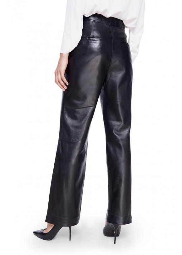 Кожаные брюки P-40 NATUREL 093