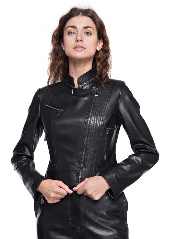 Кожаная куртка Chick VEGETAL 093