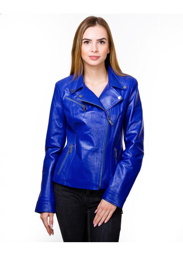 Женская кожаная куртка косуха N.Z-06 Y115 ZIK 029
