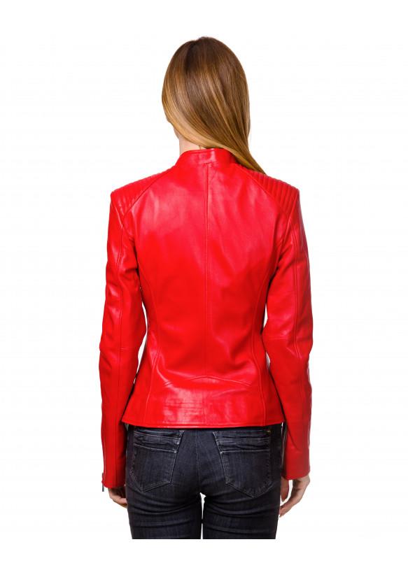 Кожаная куртка  N.Z-07 Y120 ZIG 029