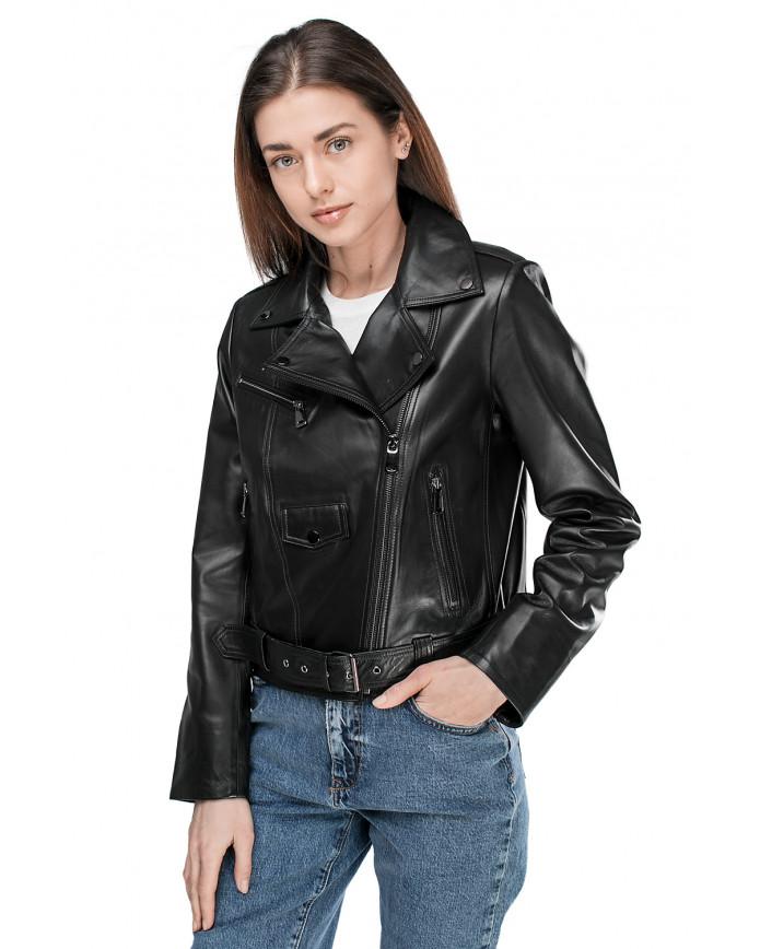 Women's leather jacket   VES-102 ZIK 089