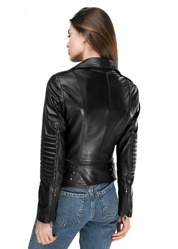 Женская кожаная куртка SFR-24 ZIK 086