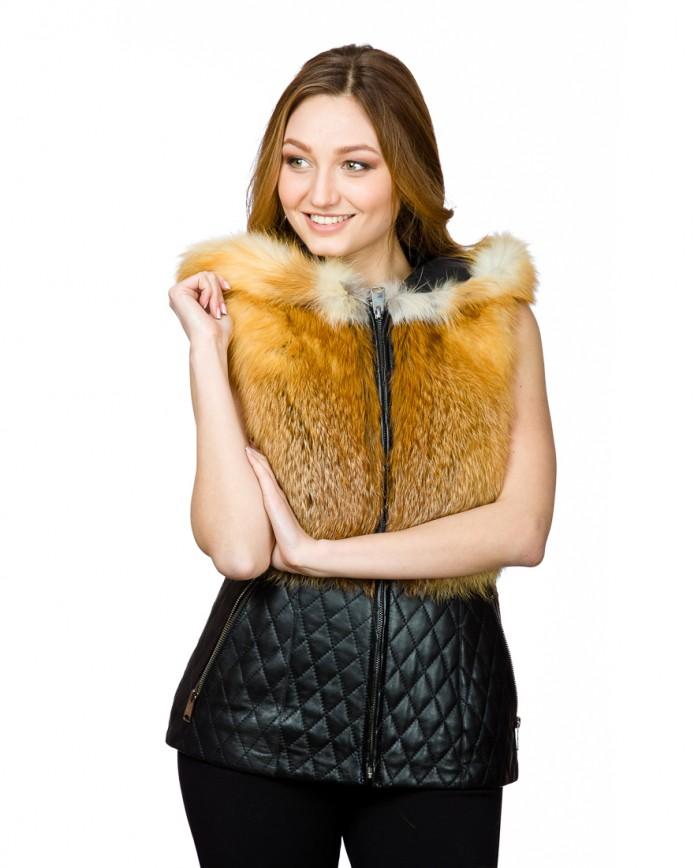 Women's fox waistcoat ING 06 Y80 ARJANTE 003 - интернет-магазин Alberta