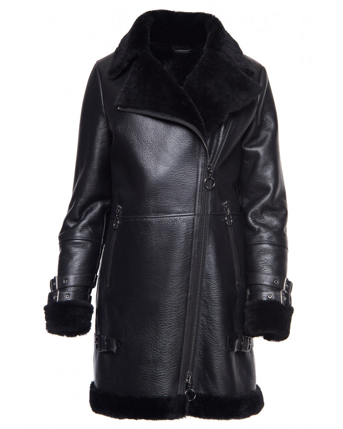 Sheepskin coat Pilot- Maxi  OHAGO 086
