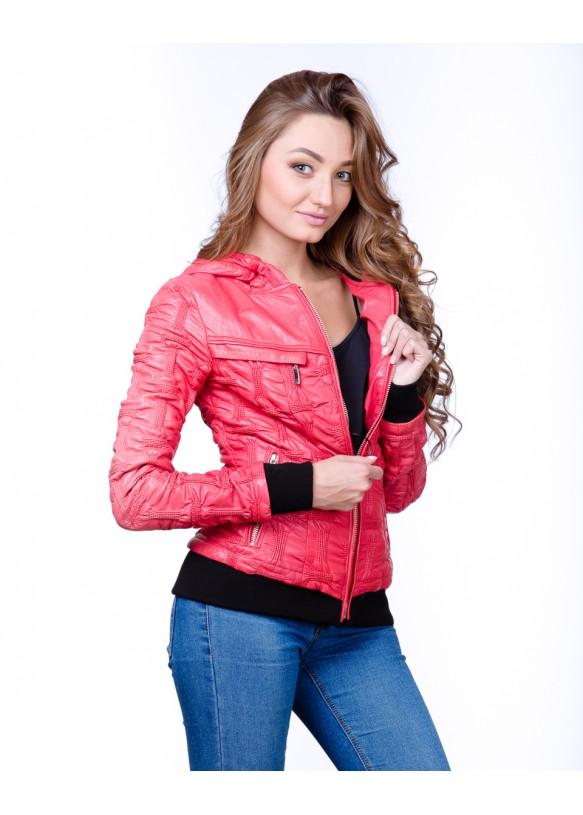 Кожаная куртка  V64715B Y80 ZIK 013