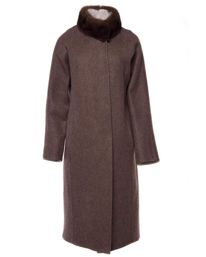 Women's alpaca coat 224-Kah ALPAKA 096