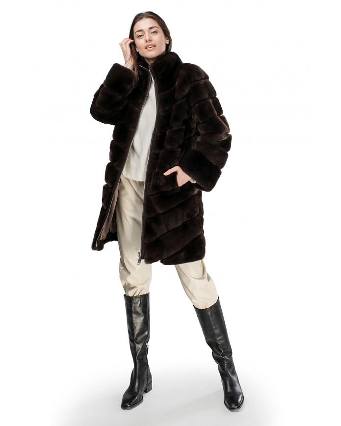 Женская шуба из орилага   205 Ha/KAH ORYLAG 100 - интернет-магазин Alberta