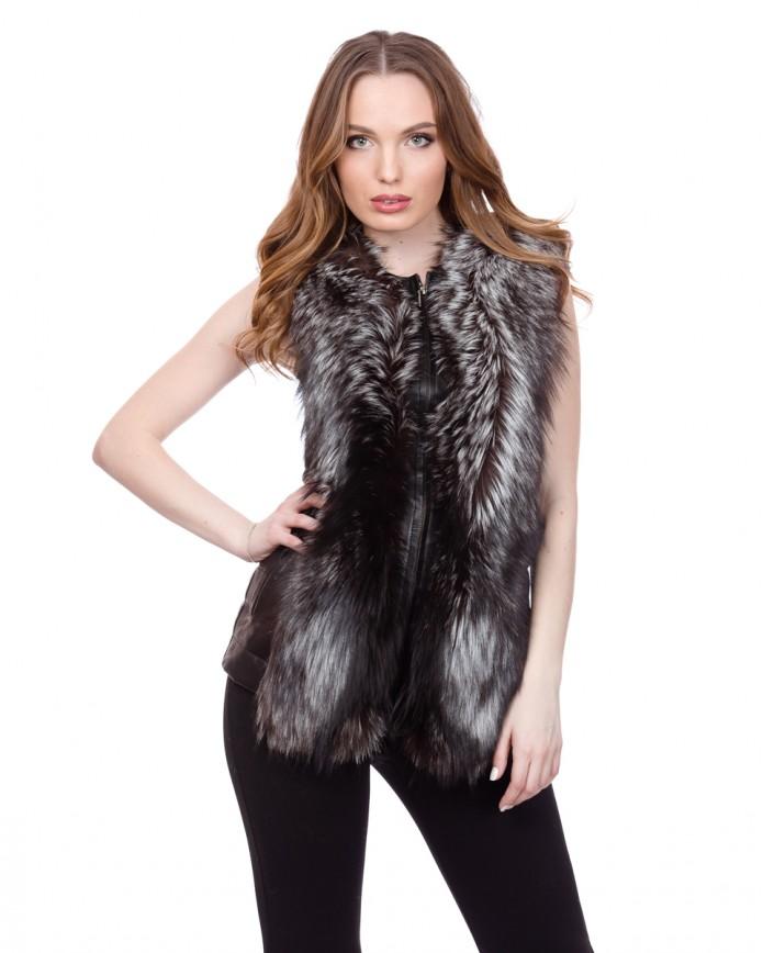 Women's fox waistcoat MAGNUM.CHO Y80 ARJANTE 003 - интернет-магазин Alberta