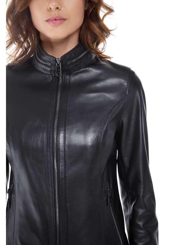 Женская кожаная куртка 540/0921 ZIG 112