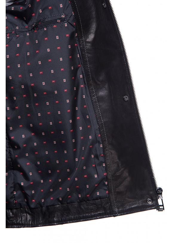 Мужская кожаная куртка N.ER-1 VEGETAL 093