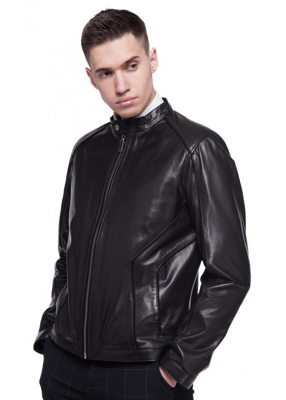 Мужская кожаная куртка N.ER-8 VEGETAL 093
