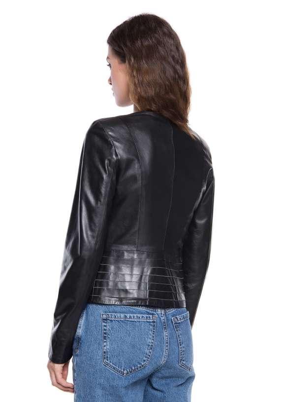 Женская кожаная куртка 9301 ZIK 093