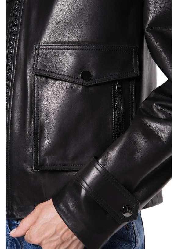 Женская кожаная куртка  411 ZIG 092