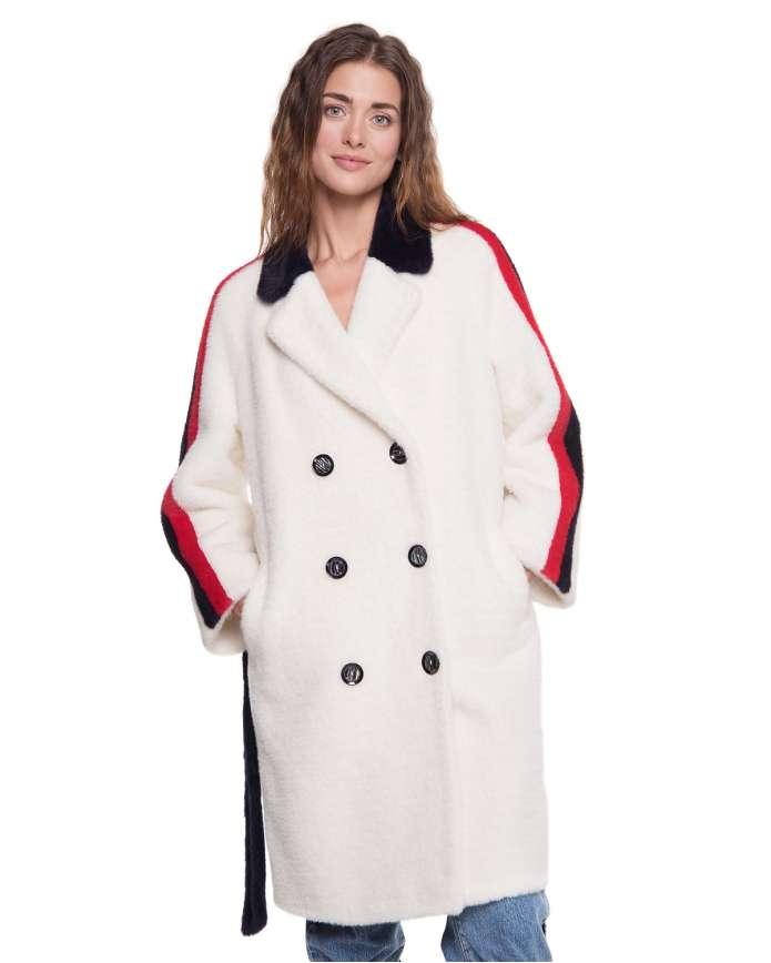 Women's faux fur coat Z-009 ECO/W 105 - интернет-магазин Alberta