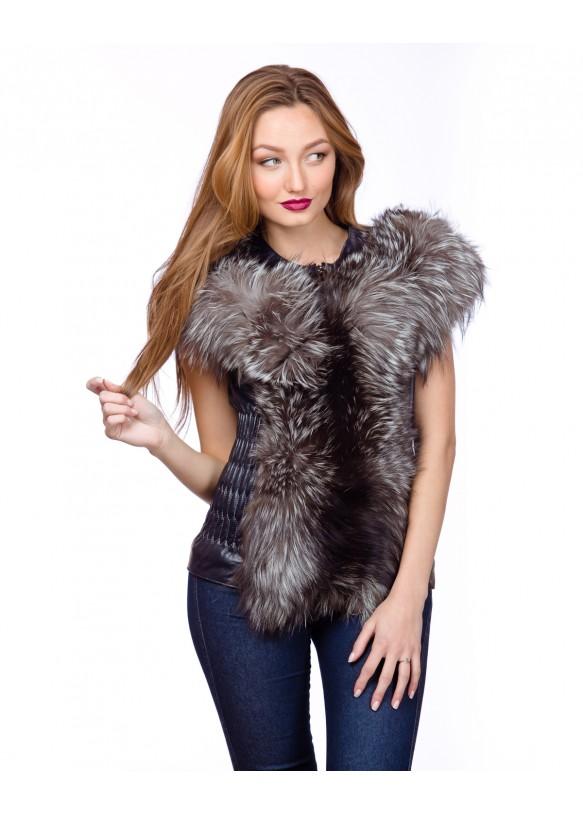 Women's fox waistcoat N.2050 Y70 ZIK ARJANTE 009