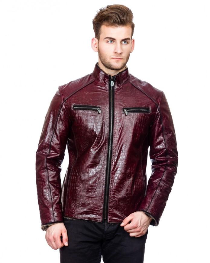 Куртка 13-5013 Y80 KROKO ICLIK 013 - интернет-магазин Alberta