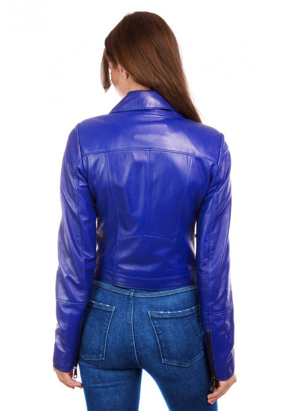 Женская кожаная куртка косуха N,N.RC-1701 Y110 ZIG 038