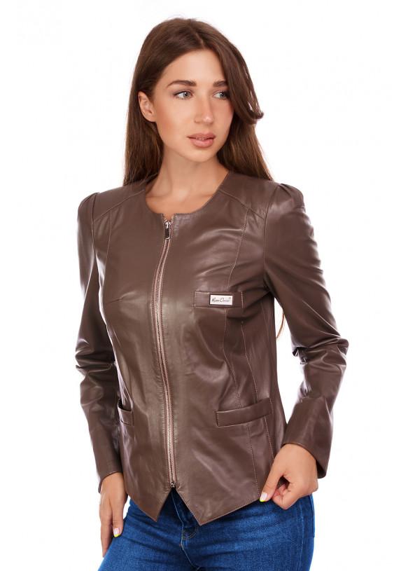 Кожаная куртка RC-795 Y115 ZIG 038