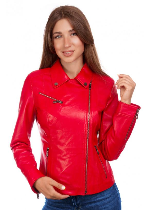 Кожаная куртка  Z 06 Y115 ZIG 029
