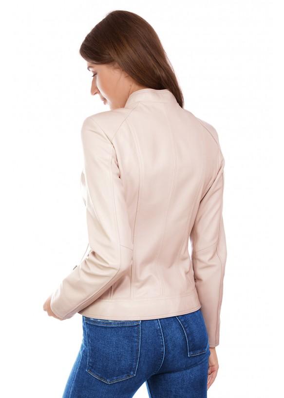 Женская кожаная куртка  Z 08 Y120 ZIG 029
