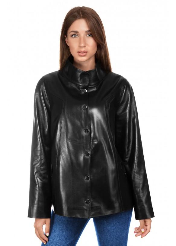 Женская кожаная куртка 3016 VEGETAL 092