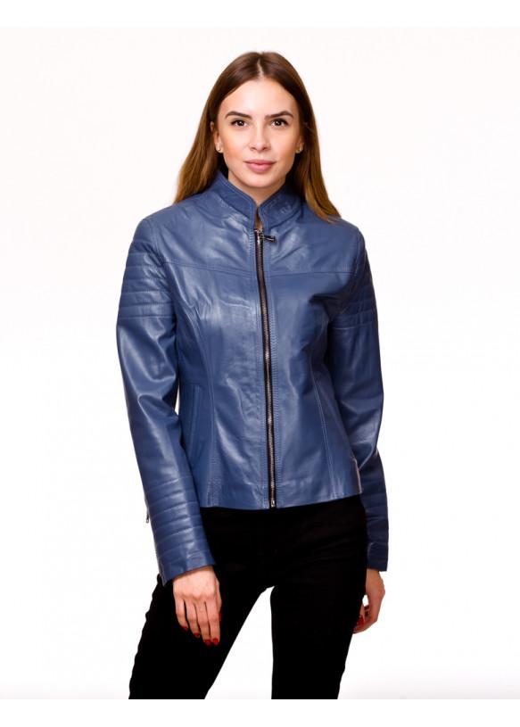Женская кожаная куртка 0020Ж Y135 ZIG 053