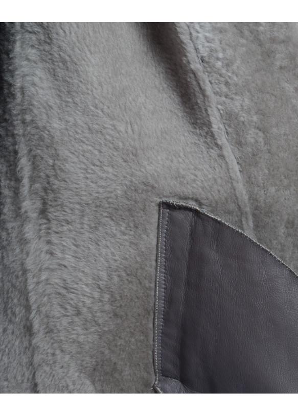 Женская дубленка из овчины LUNA Y100 KREK 065