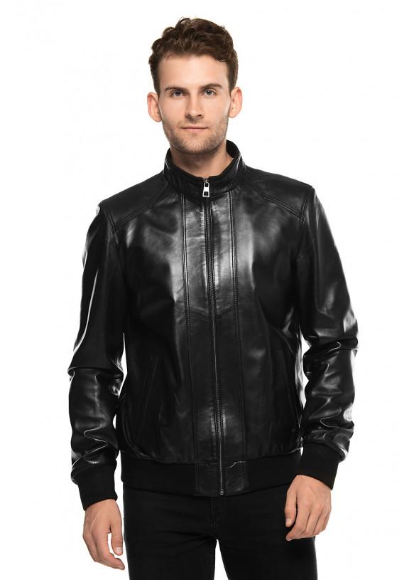 Мужская куртка из натуральной кожы E1-003 ZIK 107