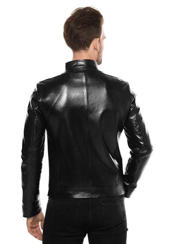 Кожаная куртка 4049 VEGETAL 092