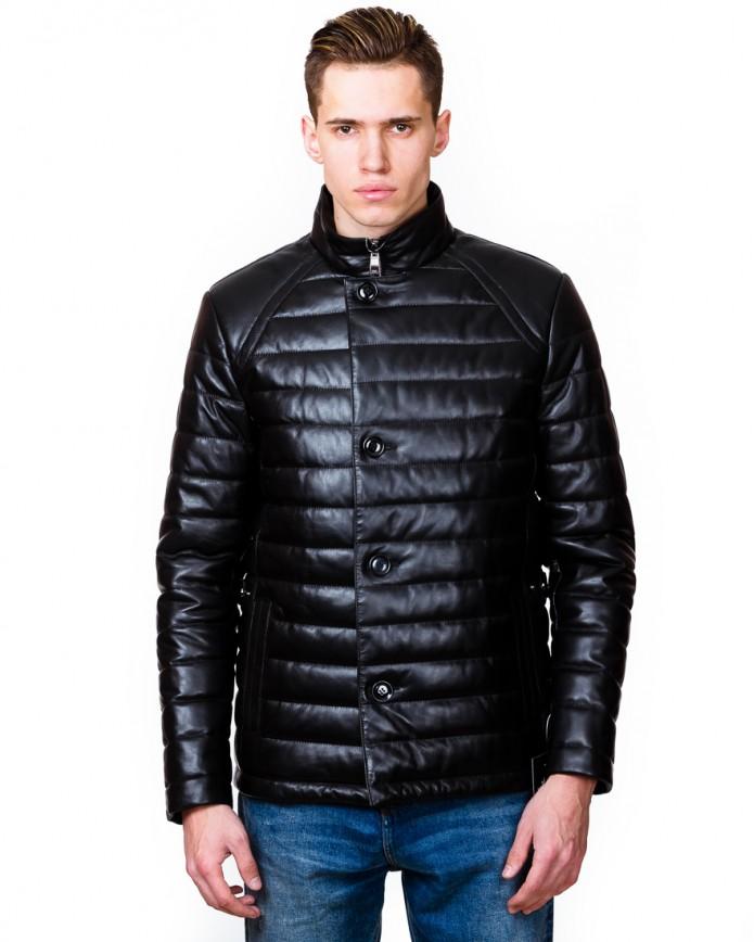 Мужская кожаная куртка 7008 Y115 ZIK 043 - интернет-магазин Alberta
