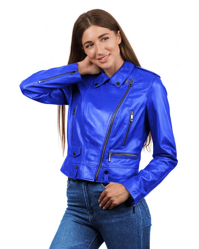 Кожаная куртка N.Z-02 Y115 ZIG 029 - интернет-магазин Alberta