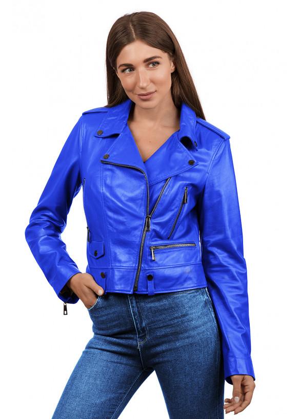 Кожаная куртка N.Z-02 Y115 ZIG 029