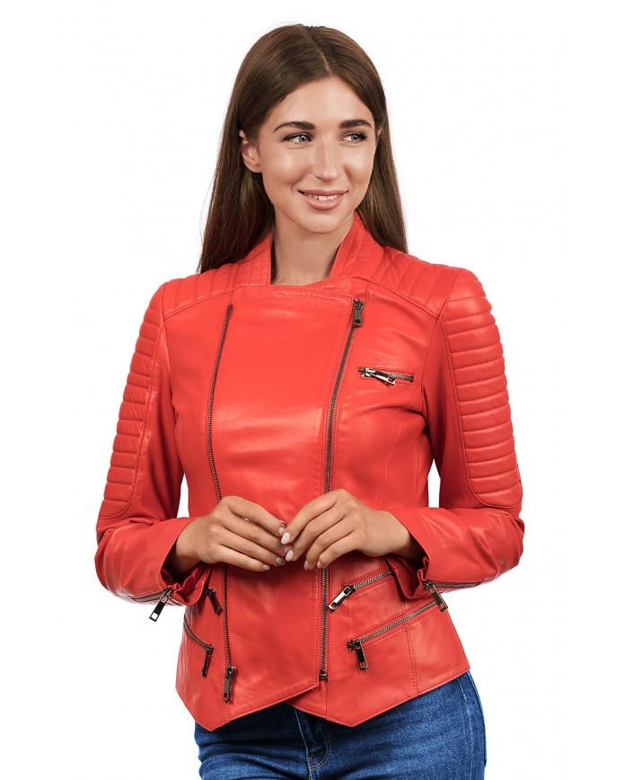 Кожаная куртка N. Z-14 Y110 ZIG 029 - интернет-магазин Alberta