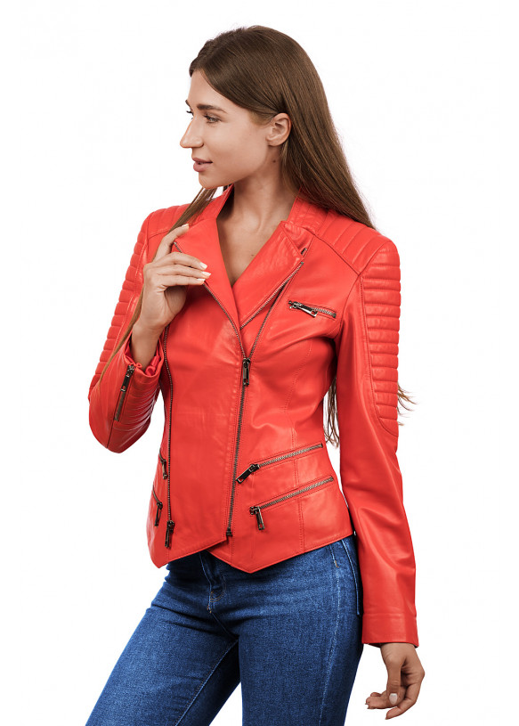 Кожаная куртка N. Z-14 Y110 ZIG 029