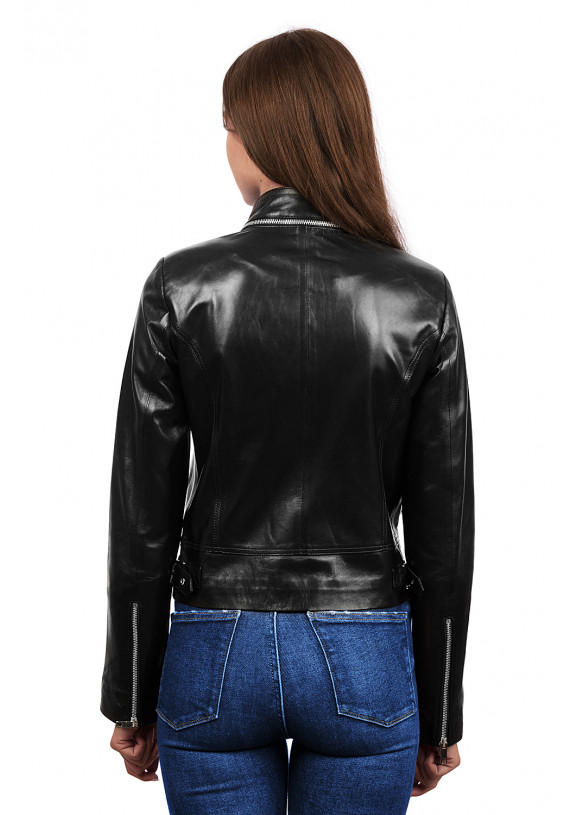 Кожаная куртка -косуха 3004 Versiyon VEGETAL 092