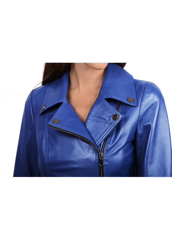 Женская кожаная куртка косуха N.RC-426 Y110 JUMBO 038