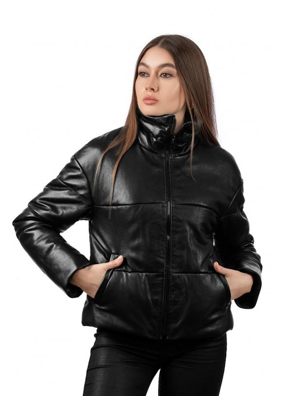 Кожаная демисезонная куртка VT-Z-1026 Y95 ZIG 066