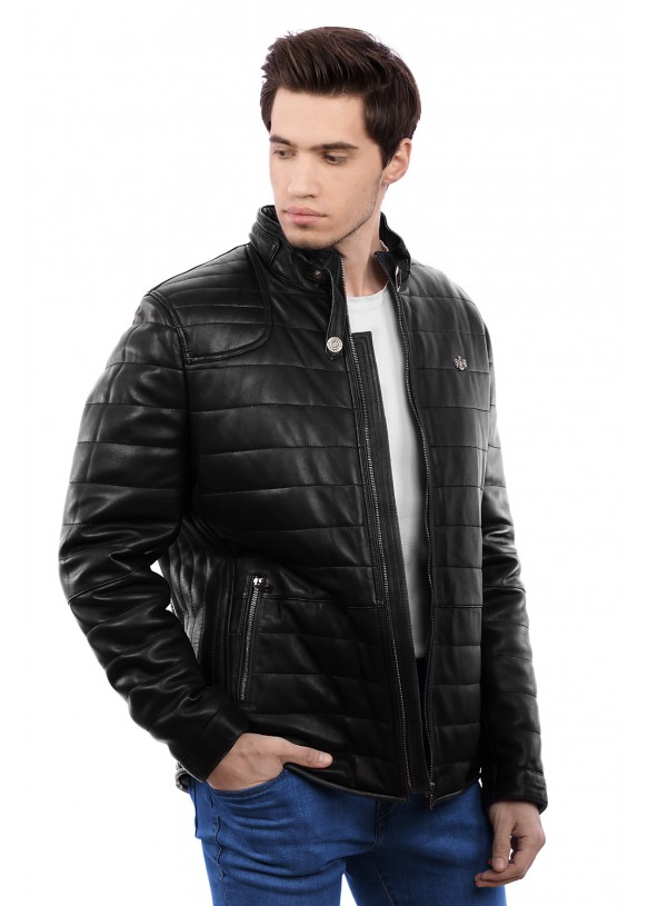 Кожаная куртка N89B Y90 VEGETAL 057