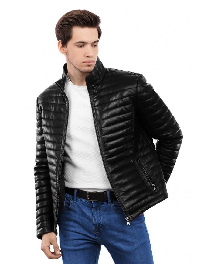 Шкіряна куртка VV-45 ZIK 089 - интернет-магазин Alberta