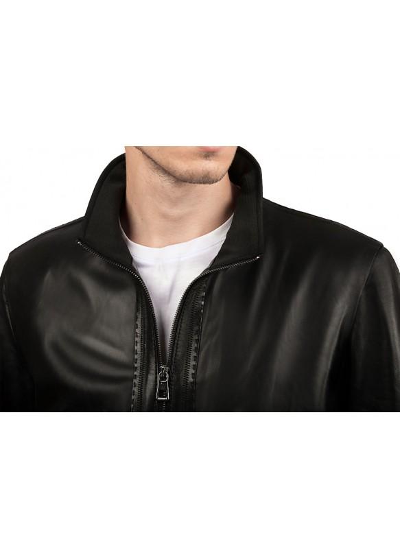 Кожаная куртка 8402 Y115 ZIG 084