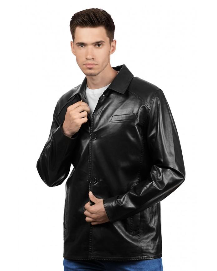 Шкіряна куртка 6009 VEGETAL 092 - интернет-магазин Alberta
