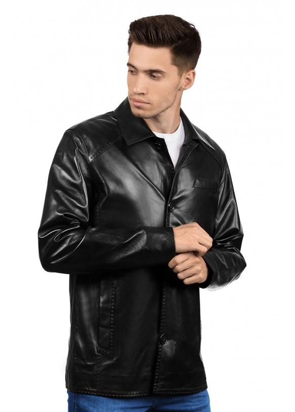 Кожаная куртка 6009 VEGETAL 092
