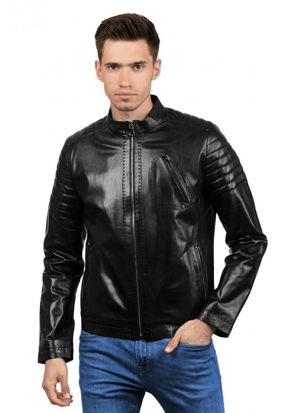 Мужская кожаная куртка 4010 VEGETAL 092