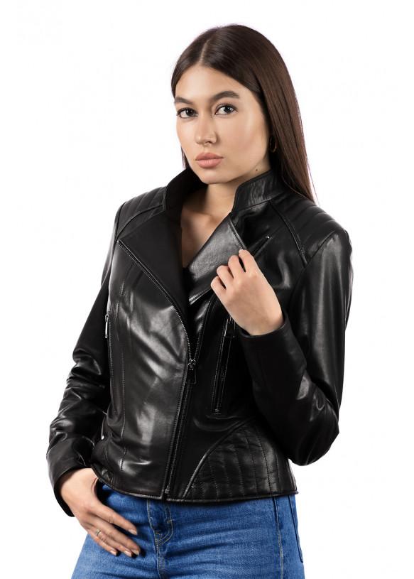 Женская кожаная куртка A.A1 ZIK 093