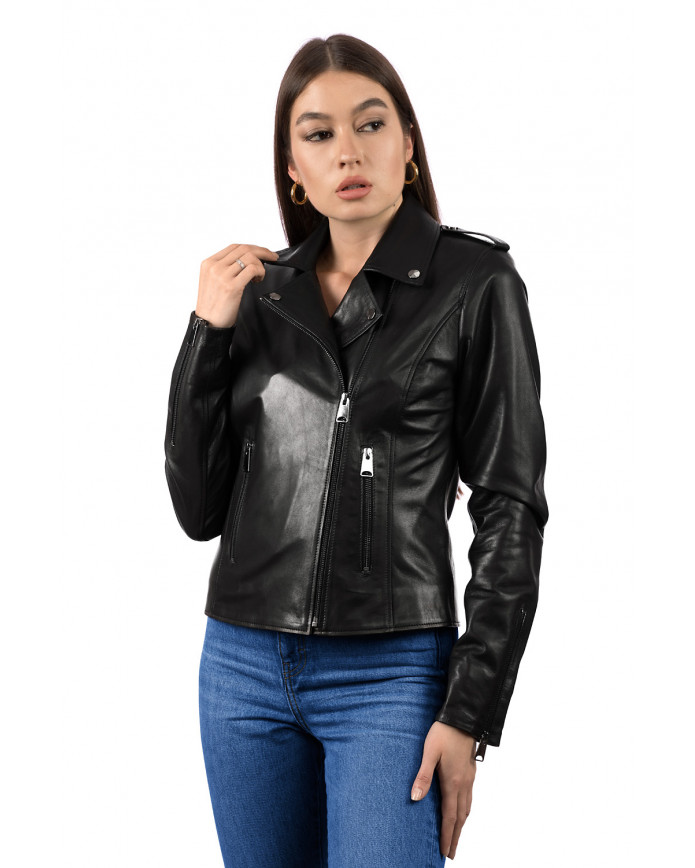 Women's leather jacket  SFR 26 ZIK 093