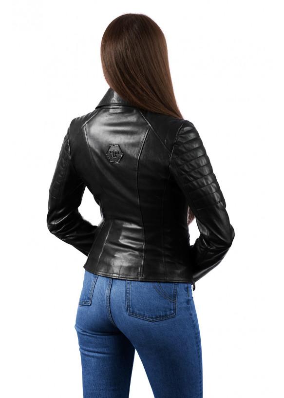 Женская кожаная куртка косуха 8210 ZIK 082