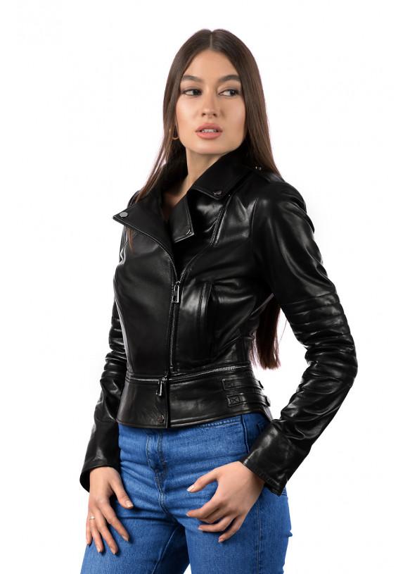 Женская кожаная куртка SFR 24 ZIK 093
